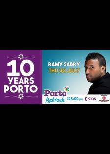 رامي صبري في بورتو مطروح