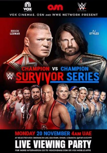 WWE SURVIVOR SERIES-2017
